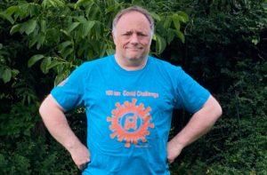 Viroloog Marc Van Ranst peter 100Km Covid Challenge