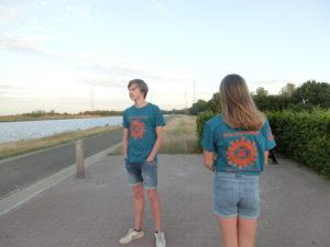 100Km Covid Challenge T-shirts